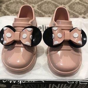 Mini Melissa Mini Mouse Sneakers - Size 7